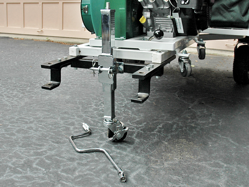3rd Wheel Jack Stand for Your Pull Behind Cyclone Rake