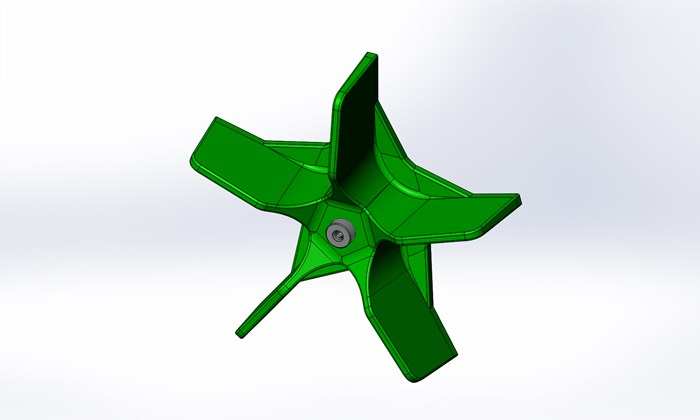 Five_Blade_Green_Impeller