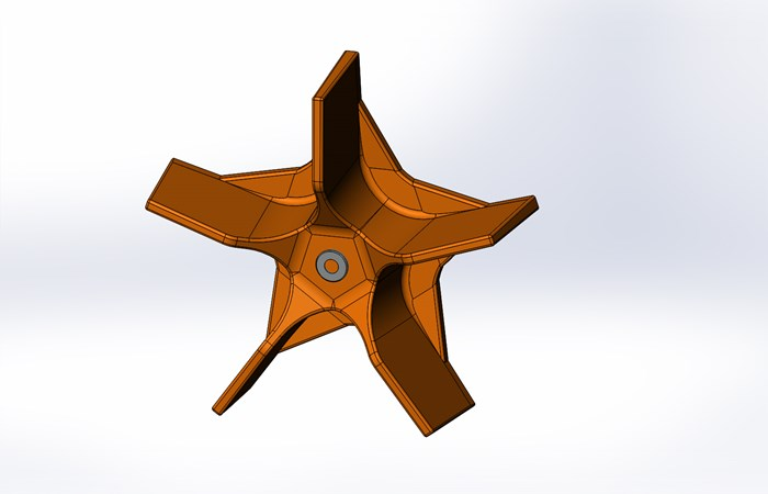 Five_Blade_Orange_Impeller