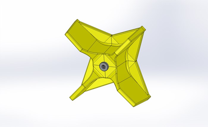 Four_Blade_Yellow_Impeller