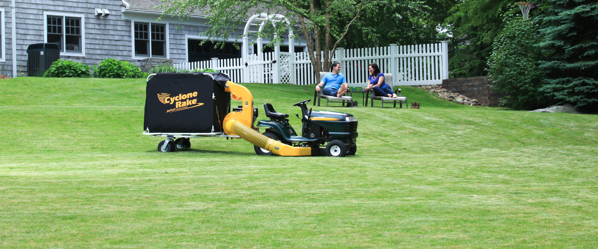 Maintain your property with our better leaf and grass bagger