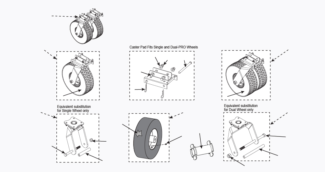 Wheel Replacement Parts