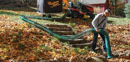 We have the most versatile leaf collector systems accessories available